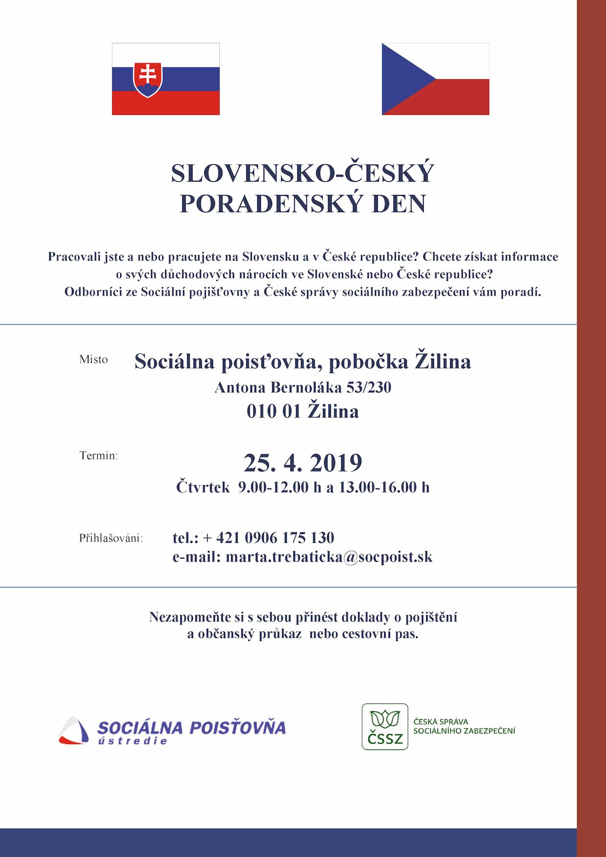 Slovensko-český poradenský den