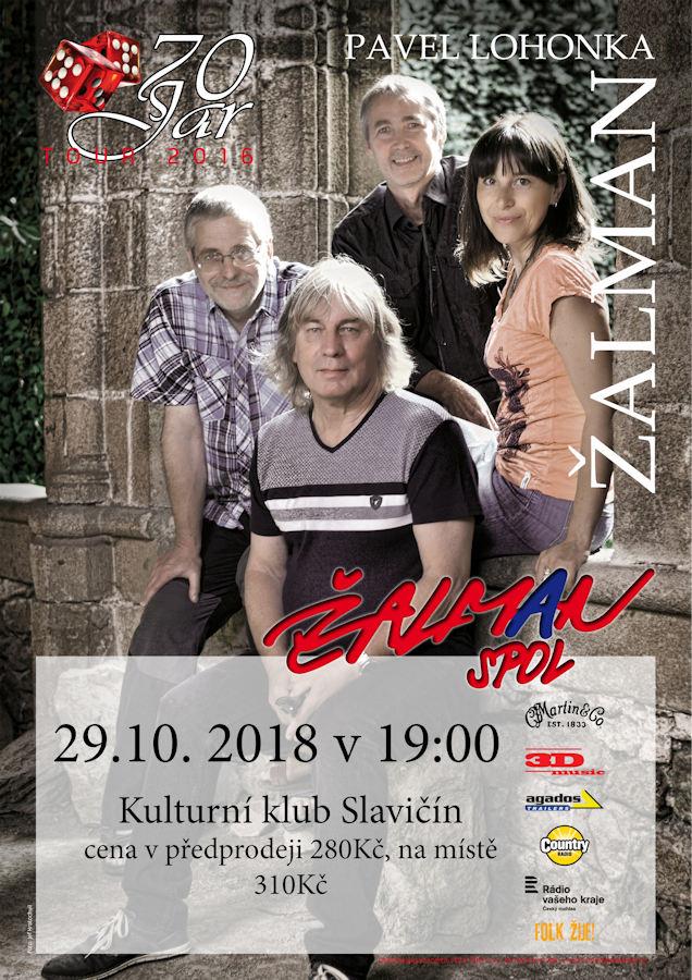 Pozvánka na koncert Žalmana